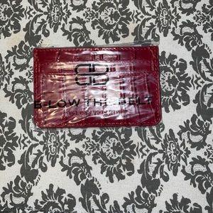 3/$25- BNWT B-Low The Belt Card Case